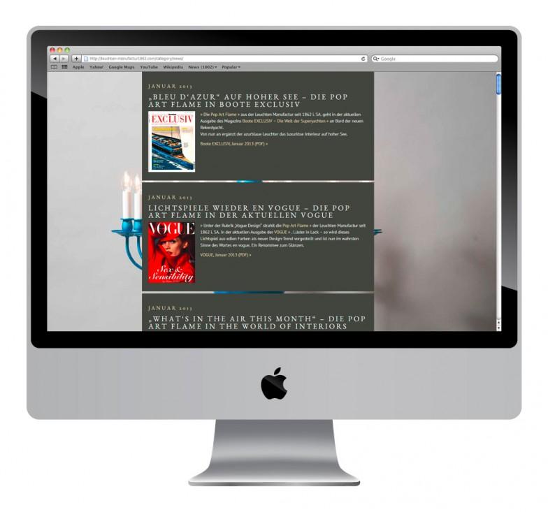 Leuchten Manufactur   News   Website