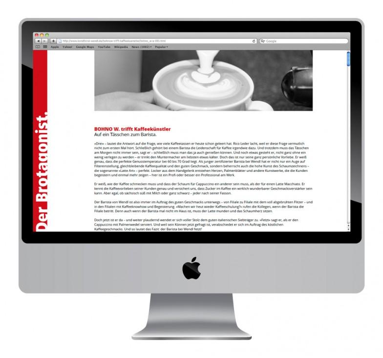 Konditorei & Bäckerei Wendl | Website