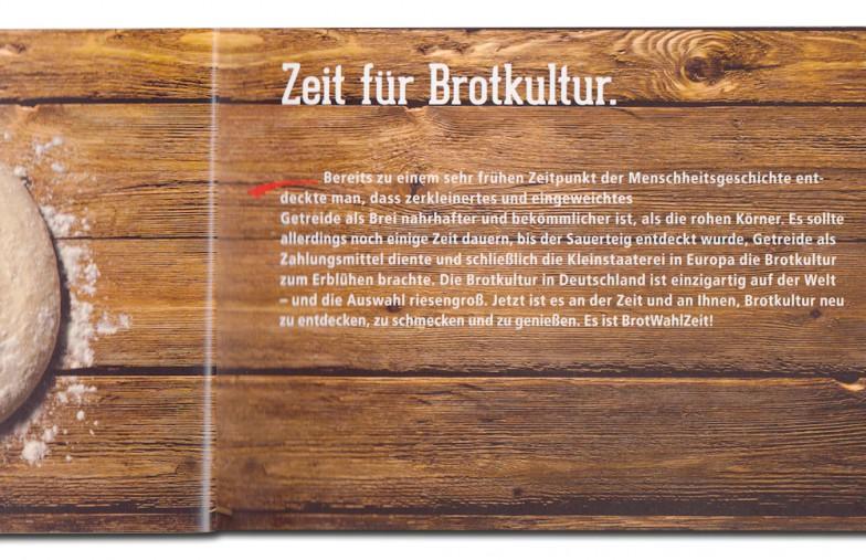 Konditorei & Bäckerei Wendl | BrotWahlZeit | Flyer