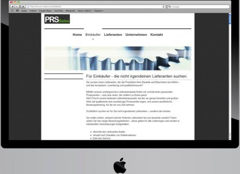 PRS Sales | Maschinen- und Werkzeugbau