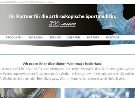 BIQ-medical | Medizintechnik und Sportmedizin
