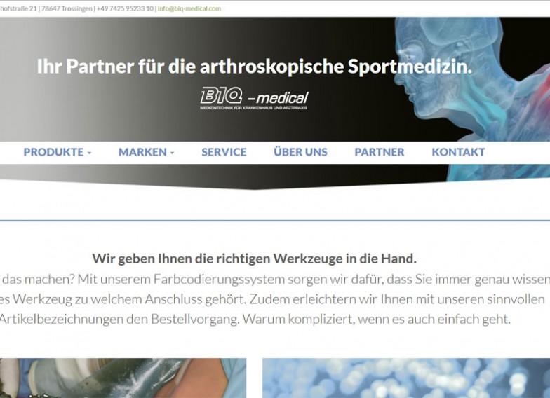 BIQ-medical | Medizintechnik und Sportmedizin