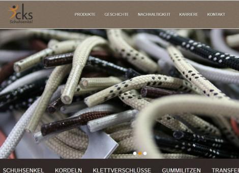 CKS Schuhsenkel | Schuhsenkel-Manufaktur